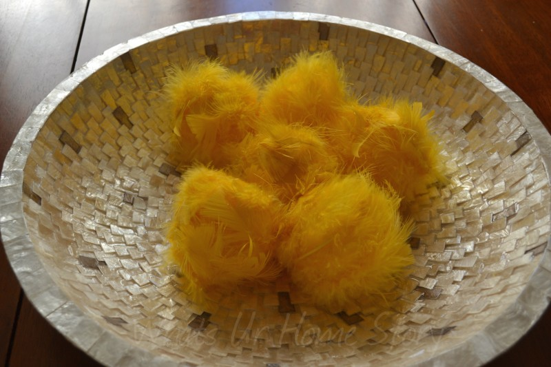 Decorative Feather Balls Awesome Decorative Feather Balls  Whats Ur Home Story Inspiration Design