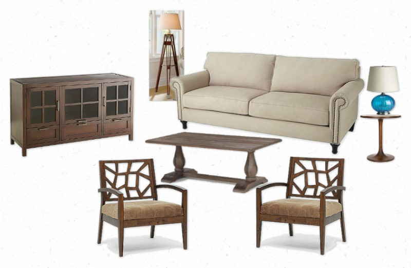 Same Look For Less   Sophisticated Family Room