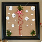 Egg Carton Holiday Amaryllis Ornament