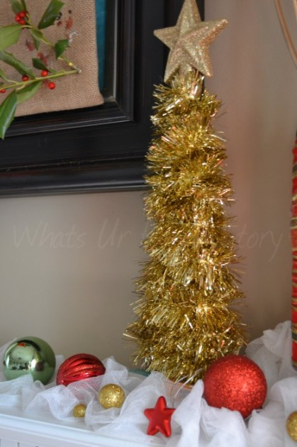 Tinsel Christmas Decorations