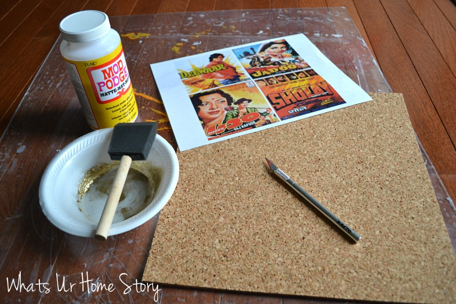 DIY Cork Coasters
