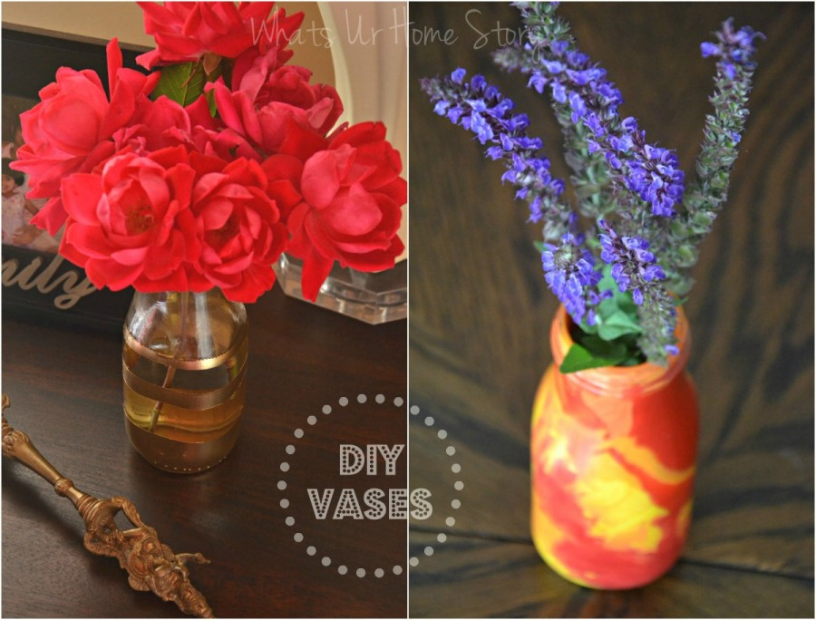 Diy Vases Whats Ur Home Story