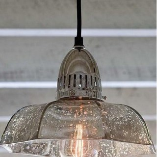 Philips Ant Merc Glass Candy Dish Transitional Pendant Light
