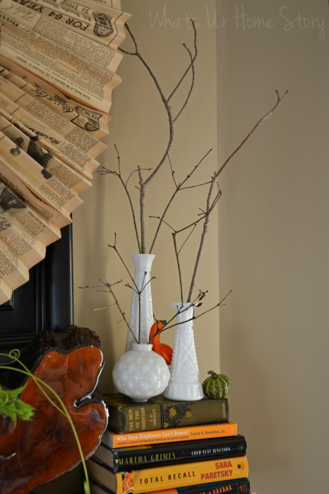 Fall Mantel 2013