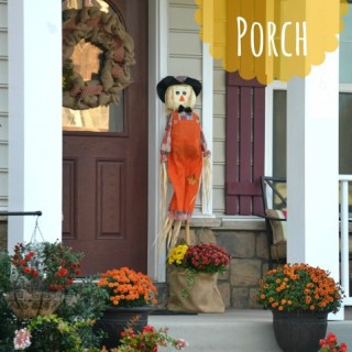Whats Ur Home Story: Fall porch