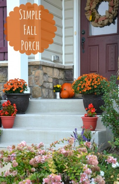 Our Fall Porch
