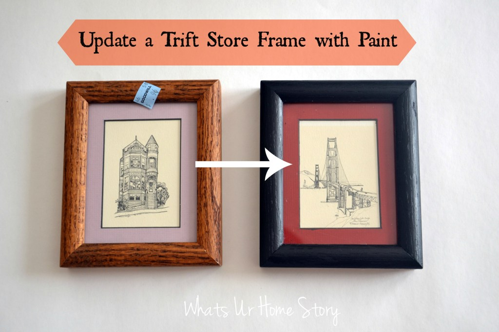 Transform Thrift Store Frames