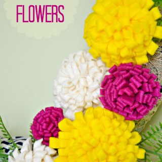 felt flowers, felt flowers diy