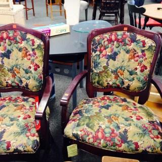 thrift store chair