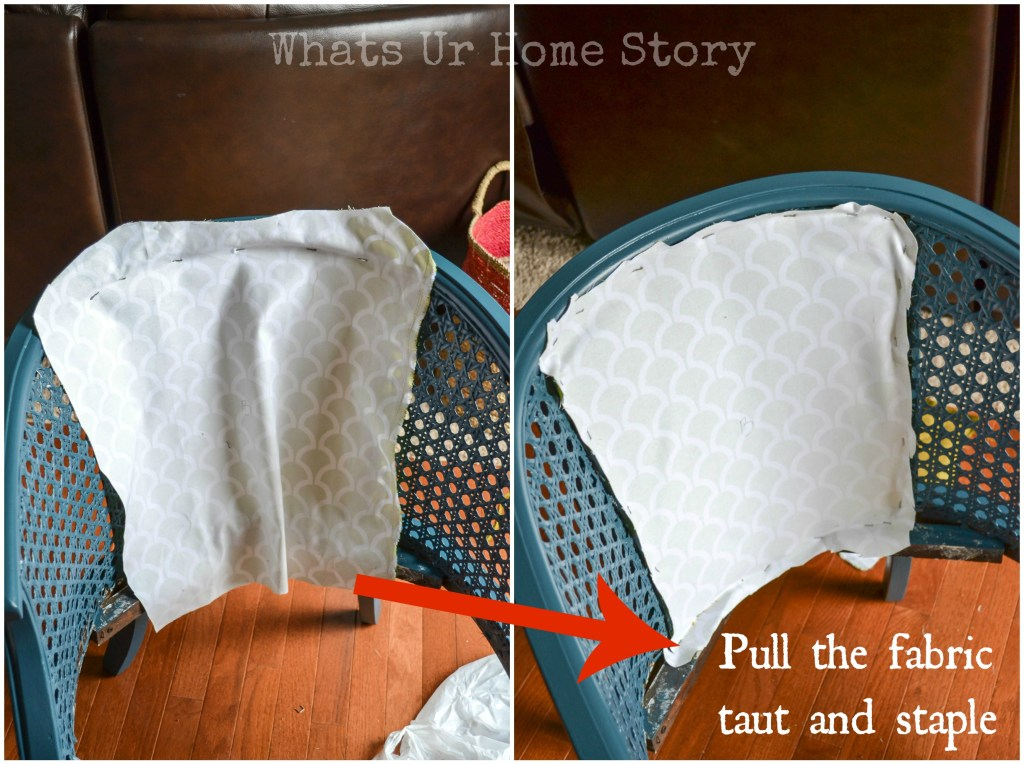 How to Reupholster a Chair Tutorial