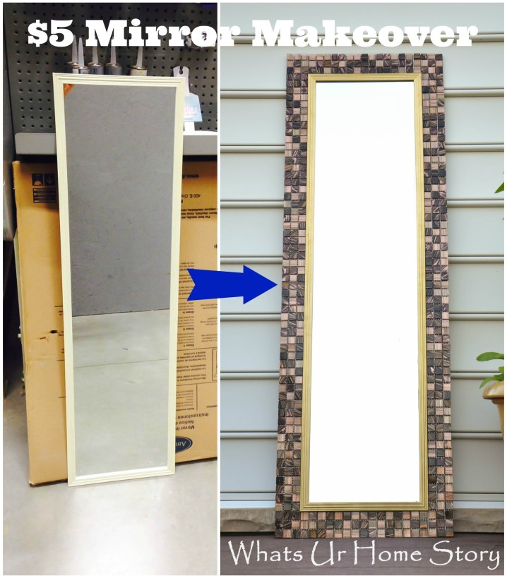 DIY Tile Mirror
