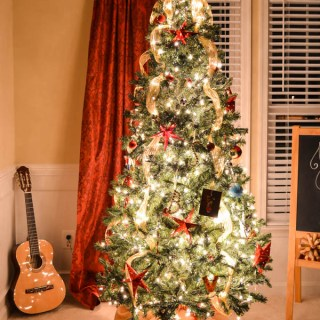 Starry Night Christmas Tree Whats Ur Home Story