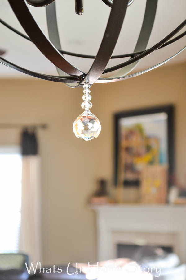 Diy orb chandelier whats ur home story diy orb chandelier aloadofball Images