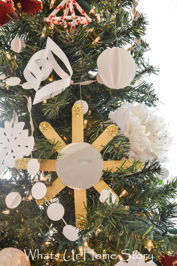 Sunburst Mirror Ornament