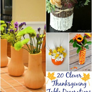 20 Clever Thanksgiving Table Decorations
