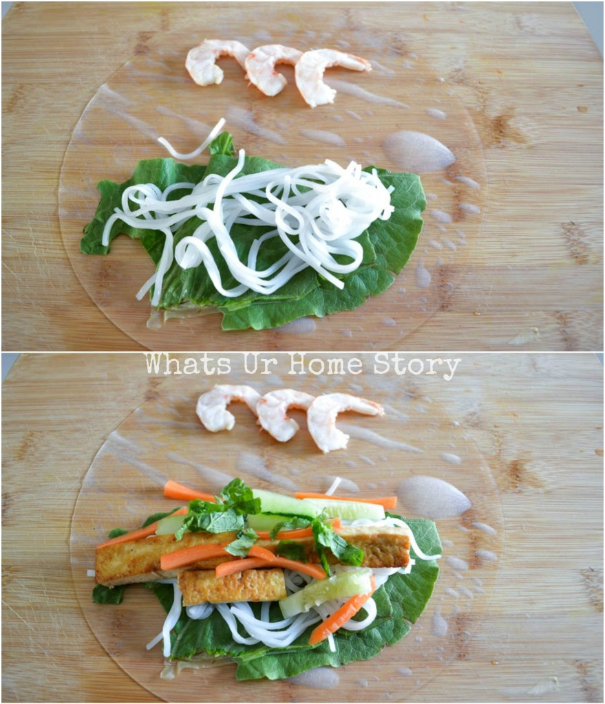 Vietnamese Spring Rolls with Tofu and Shrimp