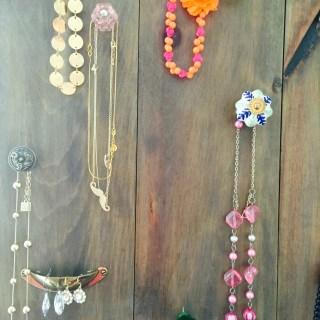 Pallet Jewelry Organizer
