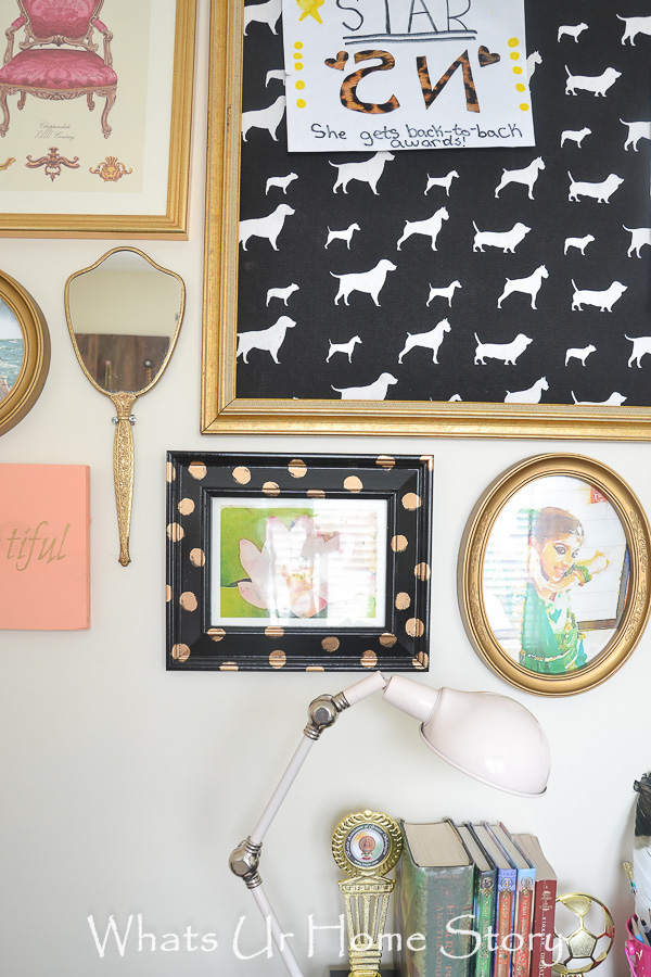 DIY Cork Board From A Frame