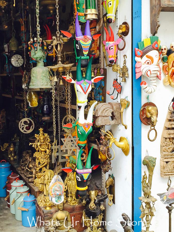 More Antiquing in Jew St, Kochi