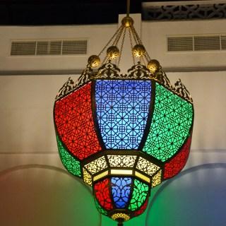 middle eastern chandelier doha