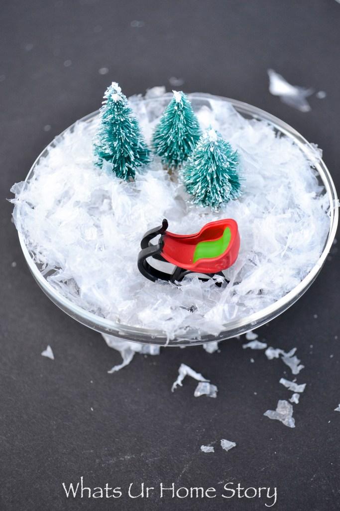 Mini Christmas Cloche