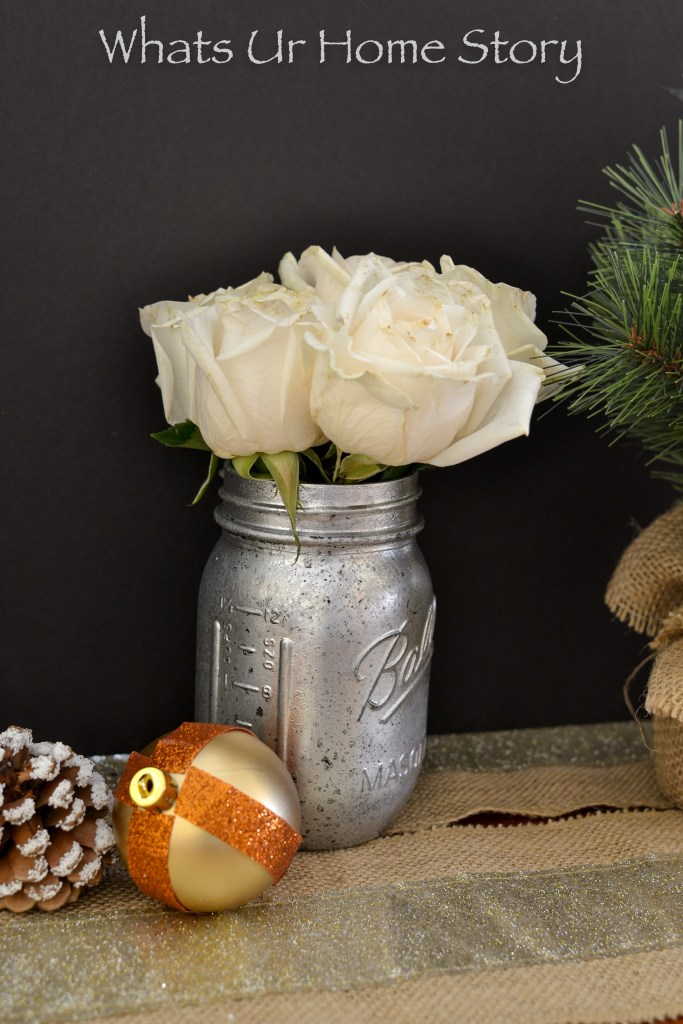 Diy Mercury Glass Vase Whats Ur Home Story