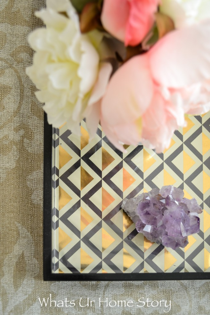 The Easiest DIY Serving Tray Makeover Ever!
