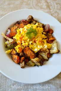 Roasted Vegetables Breakfast Hash   Whole30 Approved
