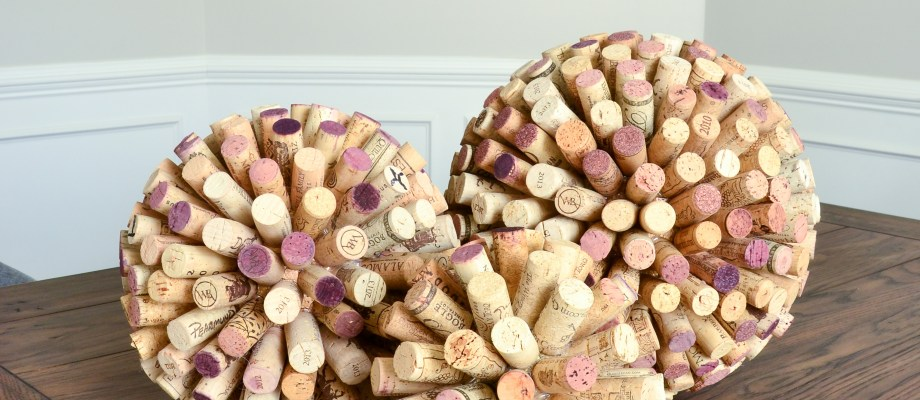 Large Wine Cork Ball DIY