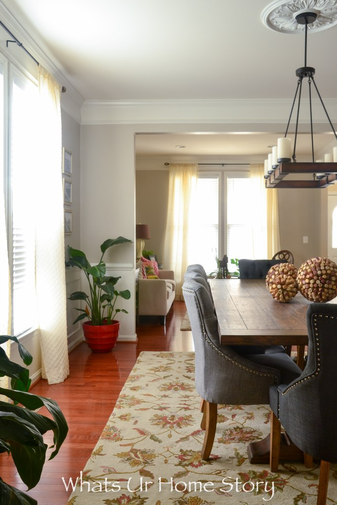 our new transitional dining room | whats ur home story