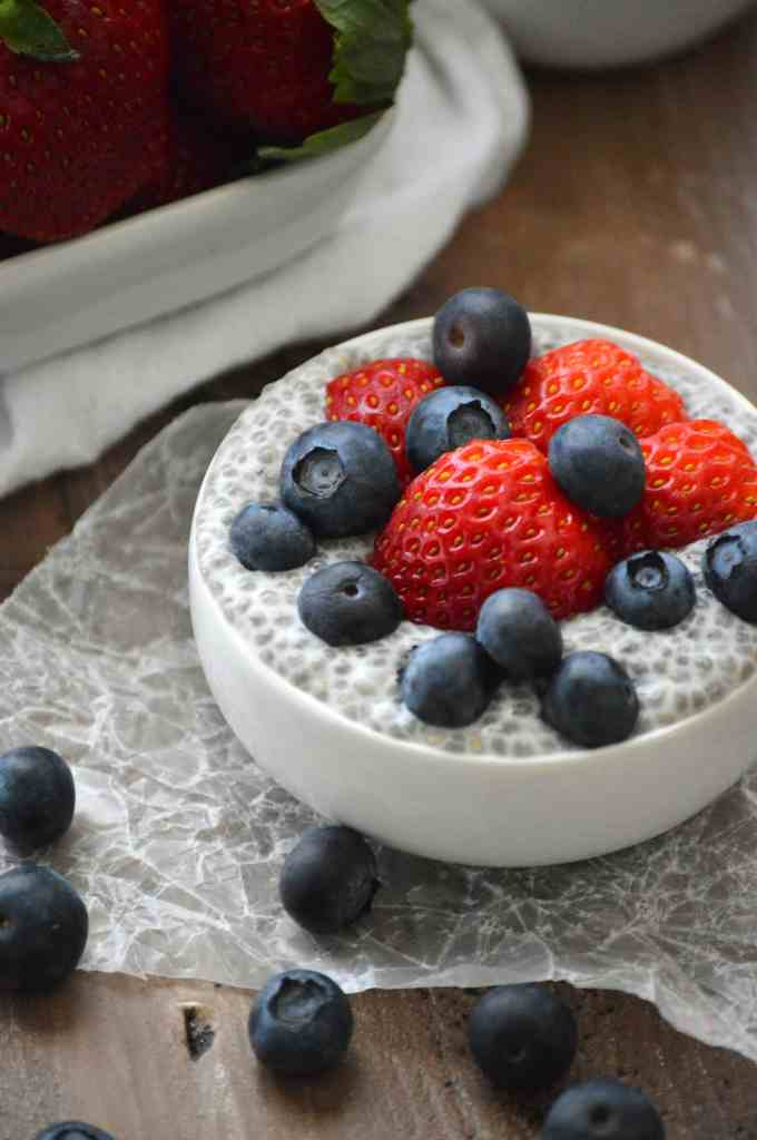 Vanilla Chia Pudding from What The Fork Food Blog