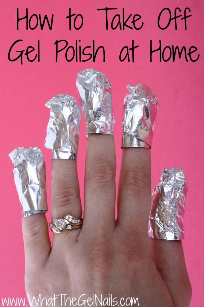 How Do I Soak Off Gel Nails At Home