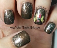 Thanksgiving Gel Polish Manicure Using IBD Just Gel Polish