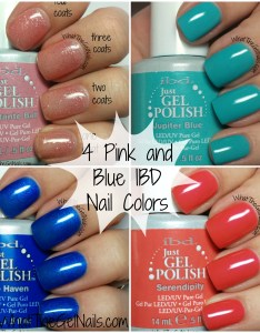 also pink and blue ibd nails colors rh whatthegelnails