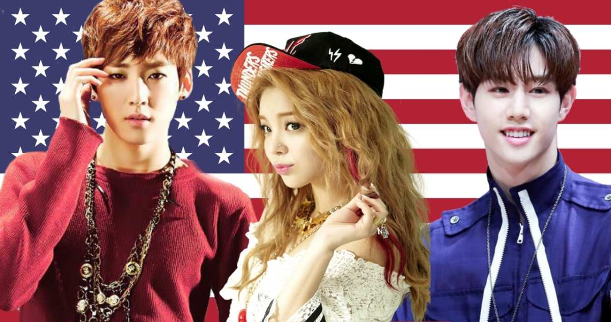 Red, White & Blue: 17 Korean Idols Who Were Born In The USA | WTK