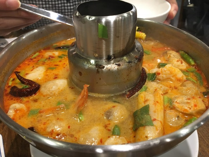 Tom Yum Goong Seafood Hot Pot @ Laem Charoen Seafood CentralWorld