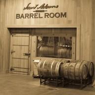 Sam Adams Boston Brewery Barrel Room