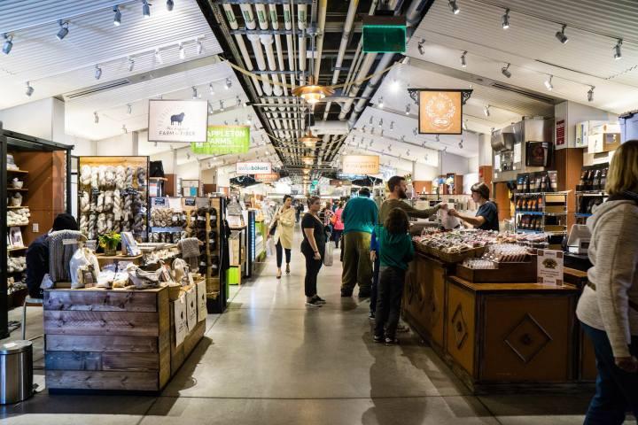 Boston Public Market Interior