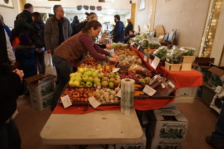 Roslindale Indoor Winter Farmer Market