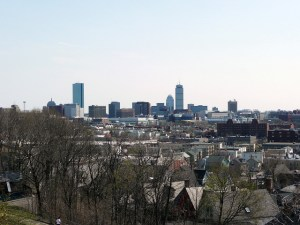 Prospect Hill View of Boston