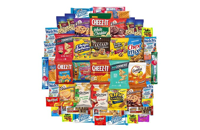 Great for travel: snacks