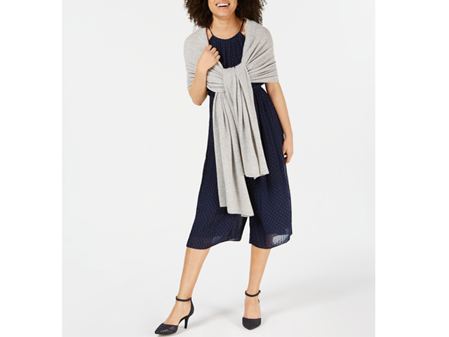 Charter Club Pure Cashmere Oversized Scarf Macy's