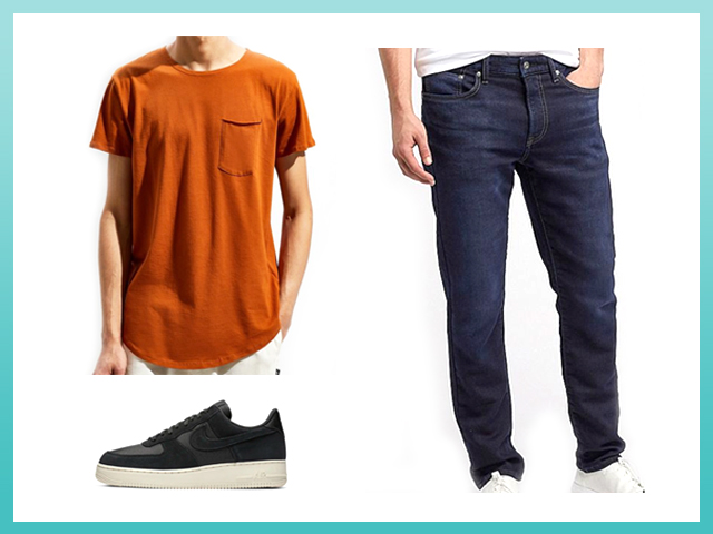 Best Stylish Jeans and Tshirt Outfit Men's