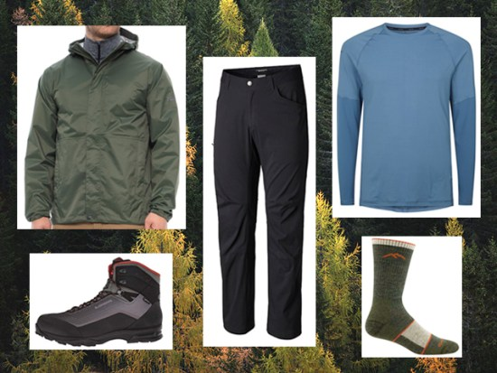 What to Wear Fall Hiking, Men's Outfit