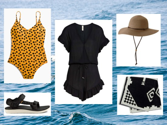 What to Wear Swimming, Women's Outfit