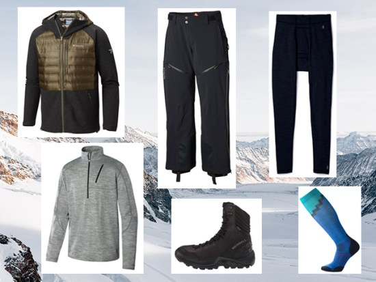 What to Wear Winter Camping, Men's Outfit