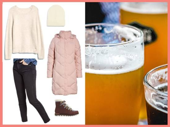 Night Out In a Mountain Town Women's Outfit Inspiration