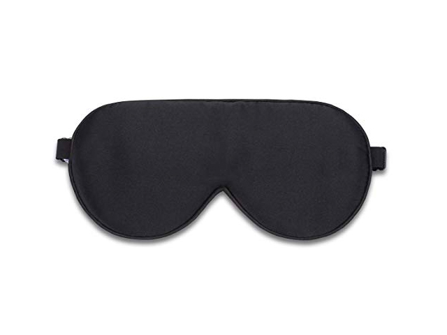 Alaska Bear Natural Silk Sleep Mask, Blindfold, Super Smooth Eye Mask