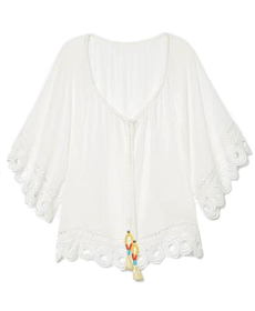 Ramy Brook Dimitri Top in White.