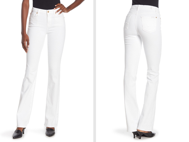 7 For All Mankind Kimmie Bootcut Jeans.
